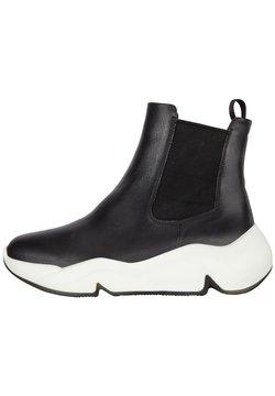 ECCO - Höga sneakers - black/black