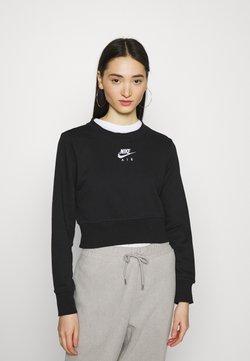 Nike Sportswear - AIR CREW  - Sweater - black/white