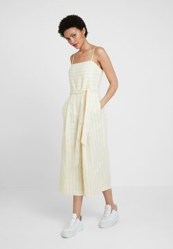 Banana Republic - STRIPE SQUARE NECK JUMPSUIT - Combinaison - yellow