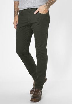 Redpoint - MILTON - Jeans Straight Leg - oliv