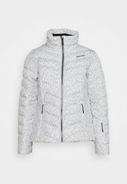 Ziener - TALMA LADY JACKET - Kurtka narciarska - light grey/white