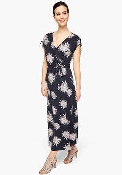 s.Oliver BLACK LABEL - Jerseykleid - navy flower print