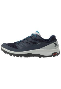 Salomon - OUTLINE GTX - Outdoorschoenen - navy blazer/quarry/lyons blue