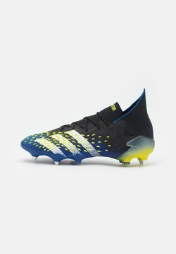 adidas Performance - PREDATOR FREAK .1 SG - Botas de fútbol - core black/footwear white/solar yellow
