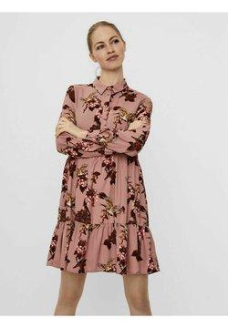 Vero Moda - Blusenkleid - woodrose