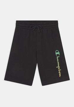 Champion - AMERICAN PASTELS BERMUDA UNISEX - kurze Sporthose - black