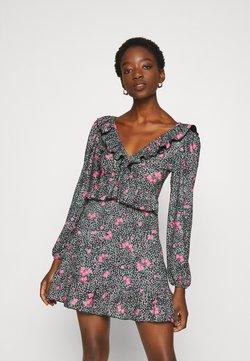 Topshop - DOUBLE TEA DRESS - Sukienka letnia - multi