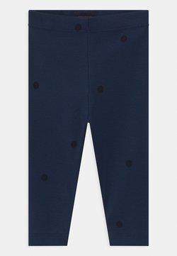 TINYCOTTONS - DOTS UNISEX - Legging - light navy/navy