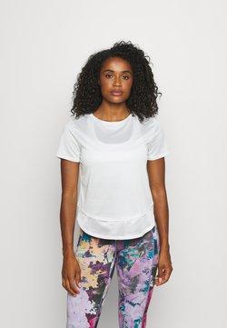 Under Armour - TECH VENT  - T-shirt basic - white