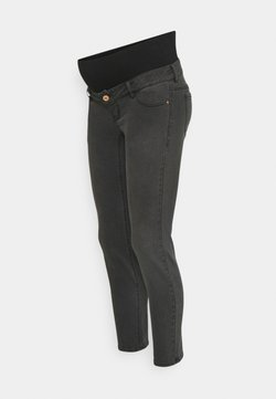 Pieces Maternity - PCMLILA - Jeans Slim Fit - black denim
