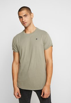 G-Star - LASH ROUND SHORT SLEEVE - Camiseta básica - shamrock