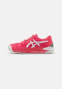 ASICS - GEL-RESOLUTION 8 - All court tennisskor - pink cameo/white