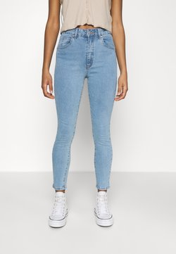 Cotton On - HIGH RISE CROPPED - Skinny-Farkut - flynn blue