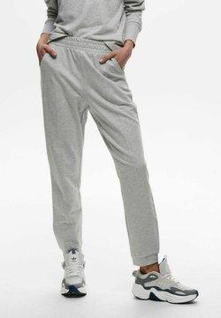 ONLY - EINFARBIG - Jogginghose - light grey melange