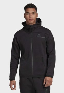 adidas Performance - Z.N.E HOODIE PRIMEGREEN HOODED TRACK TOP - Kapuzenpullover - black