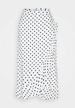 Dorothy Perkins Tall - A-Linien-Rock - white