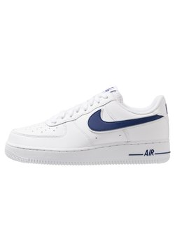Nike Sportswear - AIR FORCE 1 '07 - Sneaker low - white/deep royal