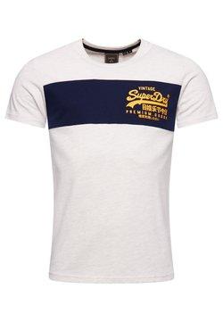 Superdry - VINTAGE  - T-shirt imprimé - mcqueen marl