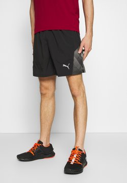 "Puma - LAST LAP 7"" GRAPHIC SHORT - Pantalón corto de deporte - black"