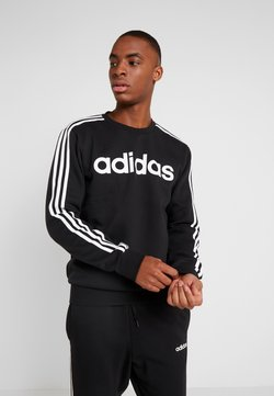 adidas Performance - CREW  - Collegepaita - black/white