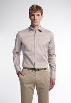 Eterna - SLIM FIT - Businesshemd - beige/weiss