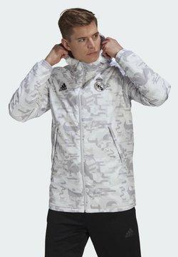 adidas Performance - REAL MADRID CNY PAD JK - Træningsjakker - white dshgry