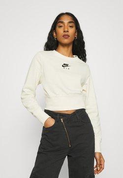 Nike Sportswear - AIR CREW  - Sweater - coconut milk/black
