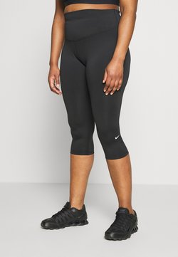 Nike Performance - ONE CROP PLUS - Tights - black