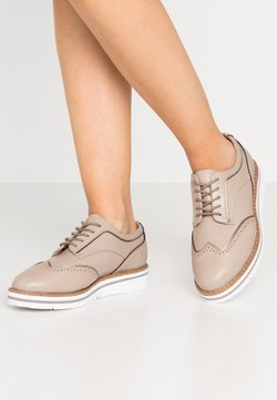 Anna Field Wide Fit - Lace-ups - taupe