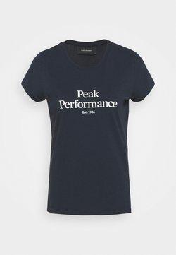 Peak Performance - ORIGINAL TEE - T-Shirt print - blue shadow