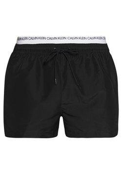 Calvin Klein Swimwear - DOUBLE - Bañador - black
