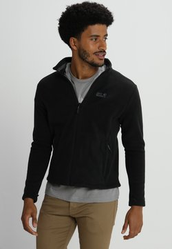 Jack Wolfskin - MOONRISE JACKET MEN - Fleecejacke - black