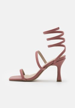 Missguided - WRAP UP MID  - Riemensandalette - brown