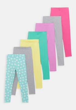 Friboo - 7 PACK - Legging - light blue/pink