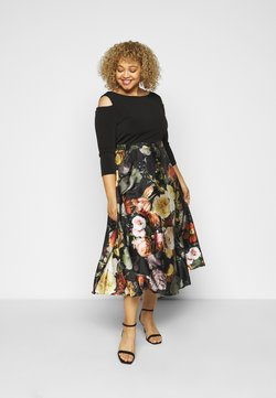 Swing Curve - Cocktail dress / Party dress - black/multi