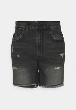 ONLY - ONLBAY DESTROY - Shorts di jeans - black denim