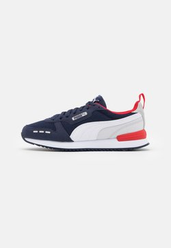 Puma - R78 UNISEX - Sneaker low - peacoat/white/gray violet