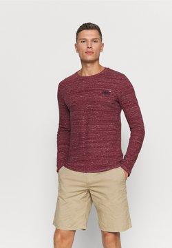 Superdry - Pitkähihainen paita - brick red space dye