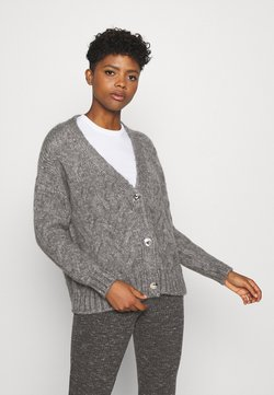 ONLY - ONLMARCELLA CARDIGAN - Kardigan - medium grey melange