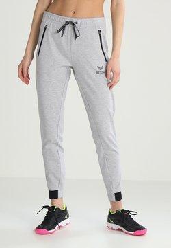 Erima - ESSENTIAL  - Jogginghose - light grey melange/black