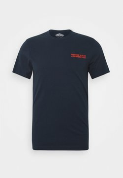 Barbour Beacon - PARKYART TEE - T-shirt print - navy