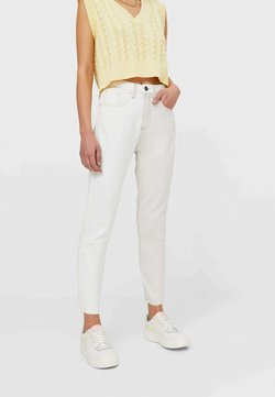Stradivarius - Jeans Relaxed Fit - white