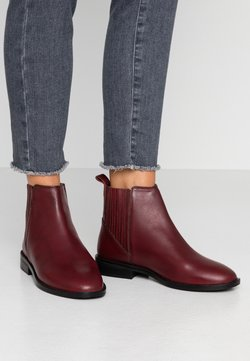 Dorothy Perkins - OSLO CHELSEA BOOT - Boots à talons - oxblood