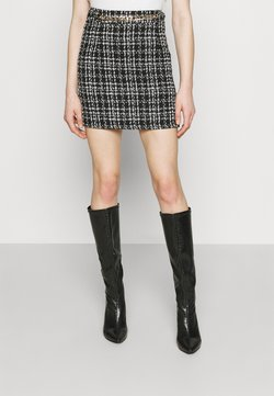 New Look - CHAIN MINI SKIRT - Minirock - black