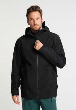 PYUA - Softshelljacke - black