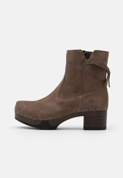 Softclox - Plateaustiefelette - taupe