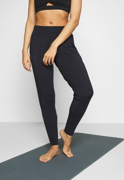 Curare Yogawear - PANTS LONG LOOSE - Jogginghose - midnight blue