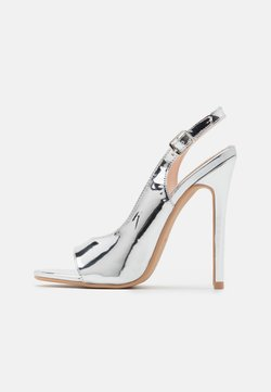 BEBO - BRISA - High Heel Sandalette - silver