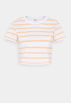 Cotton On - THE BABY TEE - T-Shirt basic - white/apricot