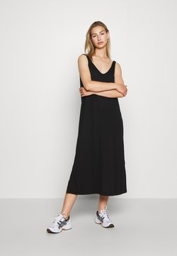 Weekday - ABBY DRESS - Maxi-jurk - black